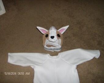 Kids Your Dog Pet Doggy Husky Pug Sheppard Bulldog Dalmation Any Breed Halloween Costume Custom Made