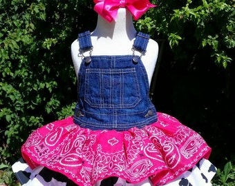Bandana Cowgirl Dress