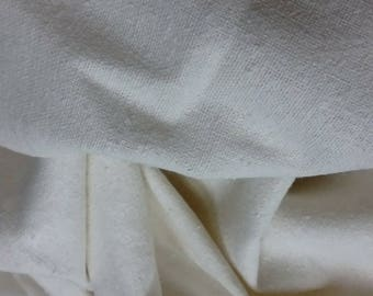 Pure Raw Silk Fabric Noil Silk cloth yardage  Special introductory price