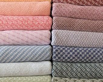 Custom Handwoven Baby Blanket - Cotton