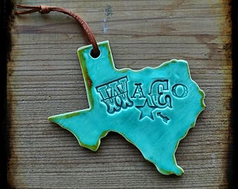 My Texas Town Ornament