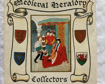 1980's Medieval Heraldry Playing Cards