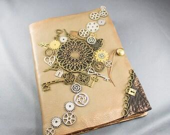 Steampunk journal - made from scratch