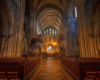 Saint Patrick Cathedral in Dublin Ireland