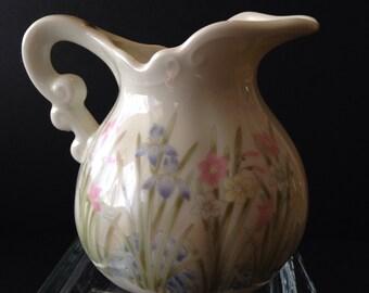 Irises and Daffodils Creamer