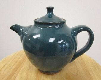 Teapot in Sea Green Glaze