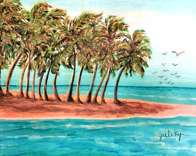 Private Island Poster Print Wall Art
