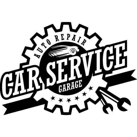 Mechanic Logo 49 Wrench Engine Auto Car Part Biker Motorcycle