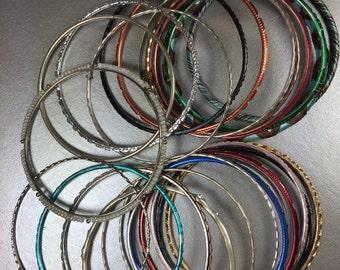 Bangle Bracelets 24pk