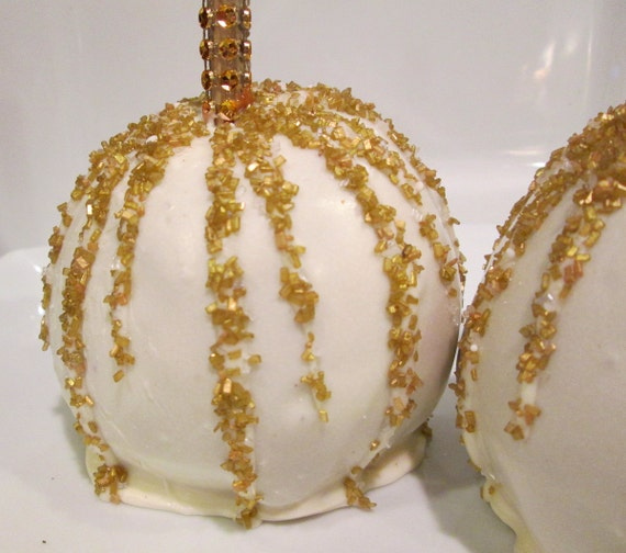 SPECIAL ORDER FAVORS White Chocolate Caramel Apples Wedding