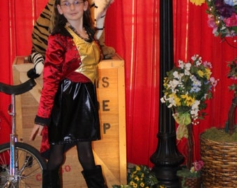 Lion Tamer Costume Sample Sale Girls Tween