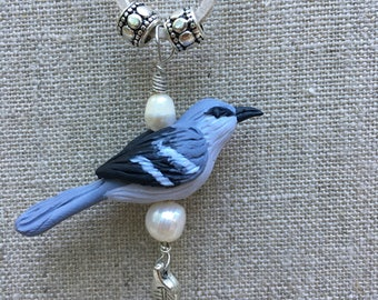 Mockingbird Leather Necklace