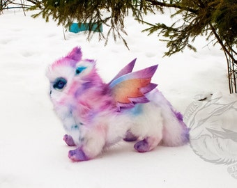 Made to order: Plush soft toy Owlcat