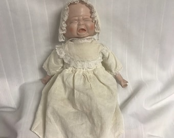 Vintage 3 Faced Bisque Baby Doll