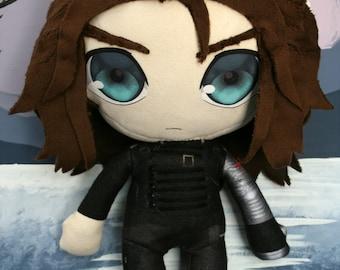 Winter Soldier / Bucky Barnes Plush