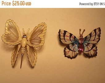On Sale Butterfly Brooches