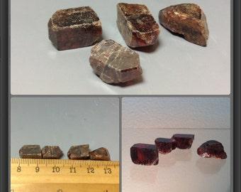 Zircon from Tanzania - 4 stones