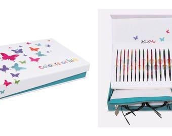 KnitPro The Colours of Life Interchangeable Knitting Needle Box Set