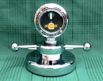 1920's Packard Boyce Motometer Dog Bone Hood Ornament Display  SALE!