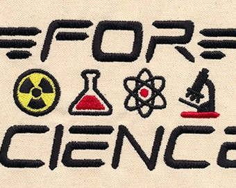 For Science! Kitchen Towel