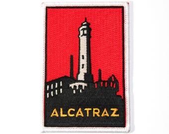 Official Alcatraz National Park Souvenir Iron-on Patch San Francisco California The Rock Scrapbooking FREE SHIPPING