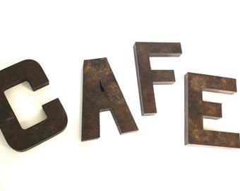 Farmhouse Kitchen Sign - CAFE Sign - Coffee Sign - Coffee Bar Sign - Rustic Coffee Bar - Rustic Coffee Sign - Farmhouse Coffee Sign -
