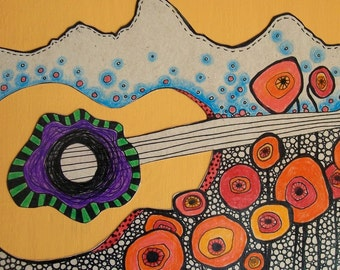 Art Card - Tuned In the Tetons by Aimee Babneau