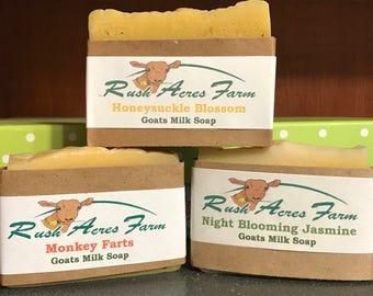 Goats Milk Soap- Frangrance Oil Scents