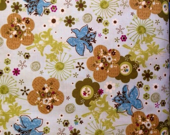 Sale Peaceful planet fabric by Studio E