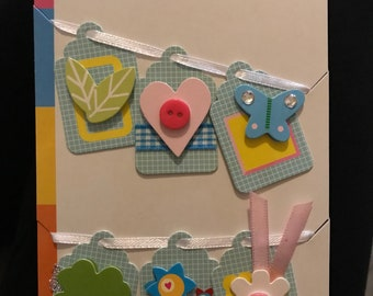 Spring Themed Craft Tags