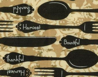 Fabric Covered Kitchen Binder - Bountiful