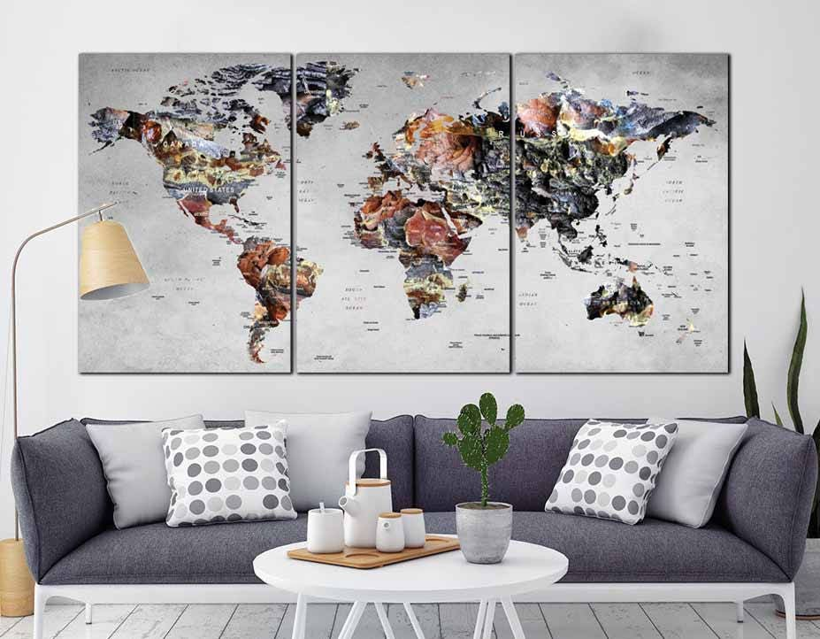 World map wall artworld map canvaslarge world maplarge map canvas world map wall artworld map canvaslarge world maplarge map canvasworld map abstract artlarge travel mapworld map push pinworld map gumiabroncs Choice Image