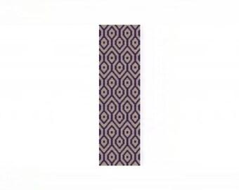 Tessellation 2 Cuff Bracelet - Loom or 2 Drop Odd Peyote Bead Pattern