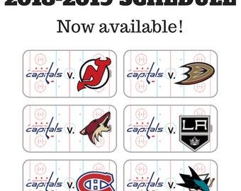2018-2019 Hockey Planner Stickers
