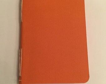 Long Stitch Journal - Orange