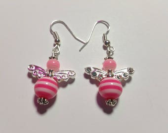 """Earrings """"Candy-Angels Pink 2"""""""