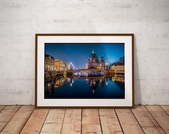 Berlin Bridge, Germany - Physical fine art photography print