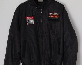 Vintage 1987 Red Baron NASCAR Jacket