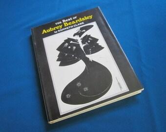 "Illustrated Hardback Art Book ""The Best of Aubrey Beardsley"" by Kenneth Clark"