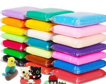 Free Shipping! Modeling Clay 24 Colors 100G/Bag Soft Fimo Polymer Clay DIY Educational Toys For Children Fluffy Slime for Models Crafting