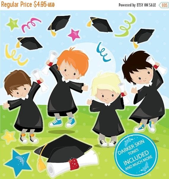 Art Girls Virtual Preschool: 80% OFF Venta Graduación Clipart Uso Comercial Graduación