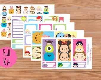 Cuties Planner Kit - Happy Planner - Planner Stickers - Full Kit - Sheets - Diary