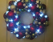Light up Christmas Wreath...