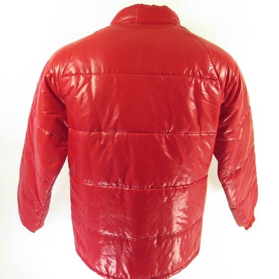 Vintage 70s Wynns Racing Jacket Mens L Deadstock Red Wet Look : quilted racing jacket - Adamdwight.com