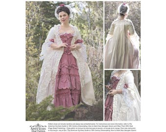 Simplicity  8578 Misses' 18th Century Gown