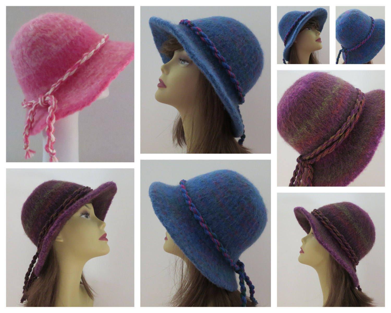 Felt Hat Pattern Felt Hat Knitting Pattern Felting