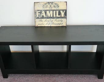 ON SALE Large Entryway Bench Custom Furniture Shoe Cubby Cubby Storage Bench Bench Seat Entertainment Center