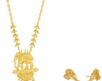 Temple jewelry/Indian jewelry/Bollywood jewelry/Ethnic Jewelry/Indian Jewelry/Indian Wedding Jewelry/Necklace Set