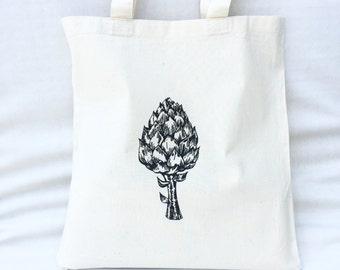 TOTE Bag - Cotton Tote Bag - Shopping bag - Artichoke