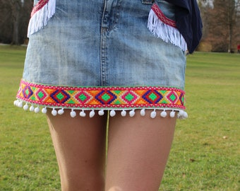 Skirt jeans - Summertime - Beachlook - Party